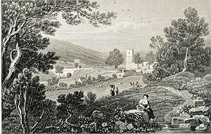 Aberystruth - Image: Blaina Monmouthshire 1820 Gastineau