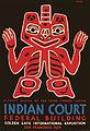 Blanket design of the Haida Indians, WPA poster for Golden Gate International Exposition, San Francisco, 1939.jpg