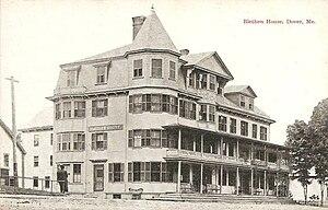 Dover-Foxcroft, Maine - Image: Blethen House, Dover, ME