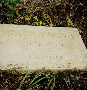 James Blish - James Blish's grave marker