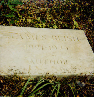 James Blish - James Blish's grave marker