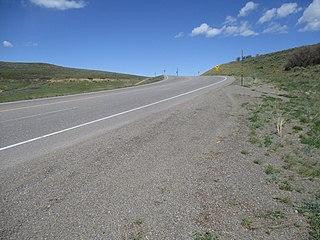 Blue Mesa Summit Mountain pass in Colorado, US
