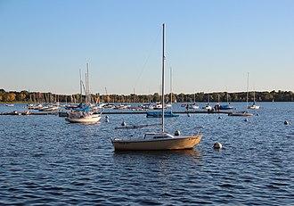 Lake Calhoun - Boats on the lake in 2017