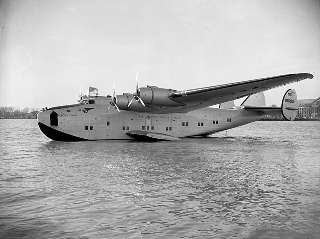 Pan Am Yankee Clipper flying boat, 1939