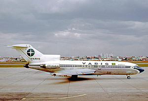 Varig - Boeing 727-41 of VARIG at São Paulo Congonhas airport in 1972