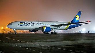 Ukraine International Airlines - Ukraine International Airlines' first Boeing 777-200ER delivered in February 2018