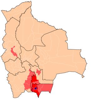Singani - Image: Bolivia wine and singani regions