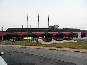 Bologna Guglielmo Marconi Airport - Terminal building