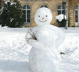Bonhomme de neige (MuseumBellerive)