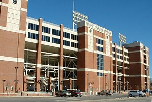 Boone Pickens Stadium - Image: Boone Pickens Stadium Outside South