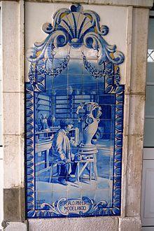 F brica de faian as das caldas da rainha wikip dia a for Fabrica de azulejos