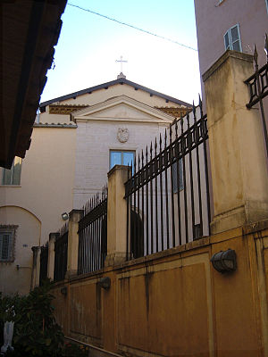 Santi Michele e Magno, Rome - Image: Borgo SS. Michele e Magno