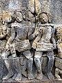Borobudur - Divyavadana - 083 N, A Stupa is raised over Ven Mahakatyayana's Goblet (detail 1) (11706173934).jpg