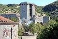 Bosa, castello malaspina, torre pentagonale aragonese 00.JPG