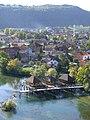 Bosanska Krupa, rekonstruovane mlyny na Une.jpg