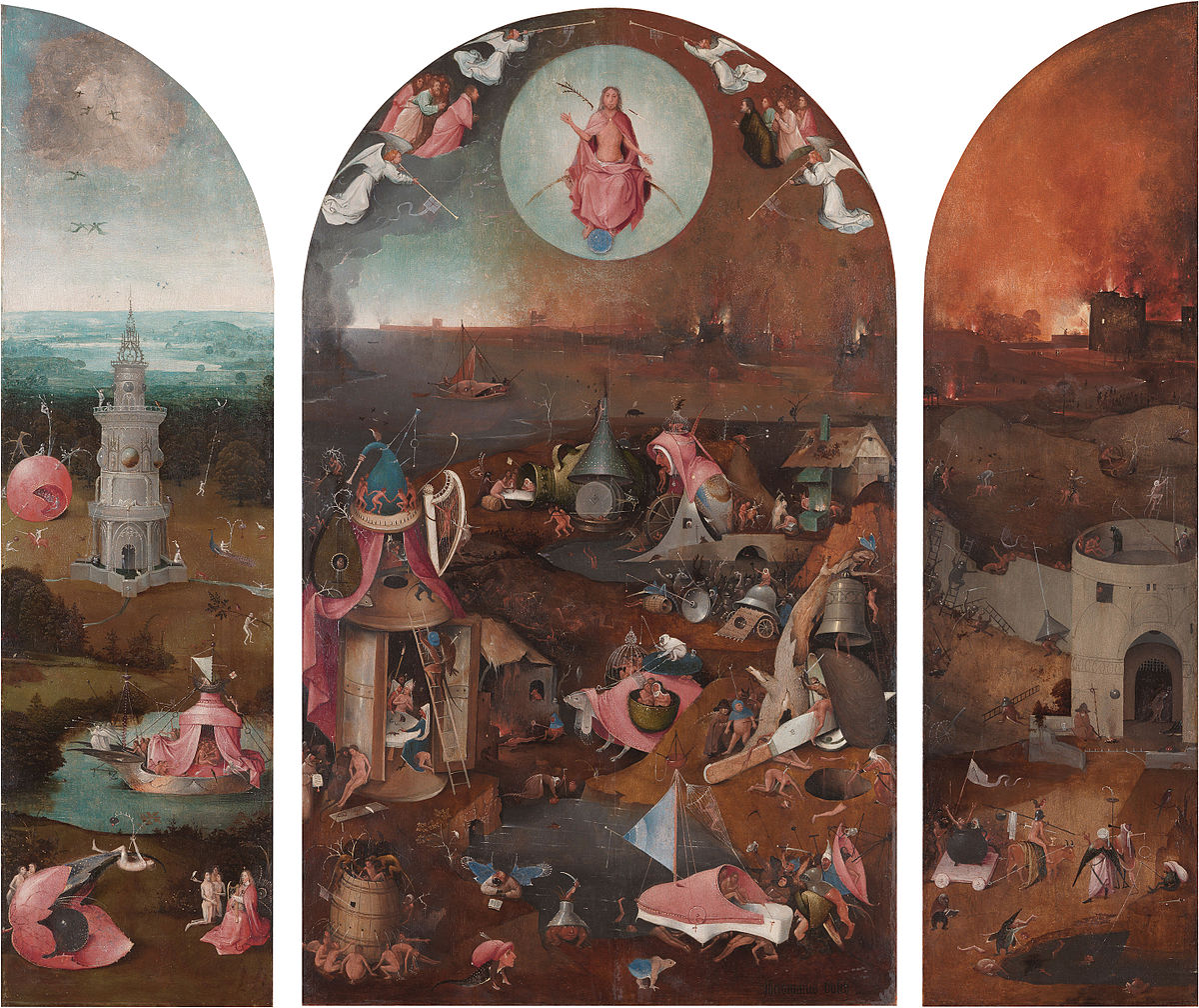 Artist Jerome Bosch: Paintings 98
