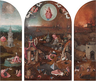 triptych by Hieronymus Bosch and his workshop