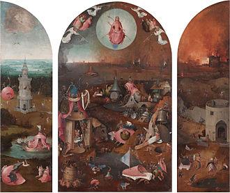 Jhieronymus Bosch - Visions of genius (exhibition) - Image: Bosch laatste oordeel drieluik