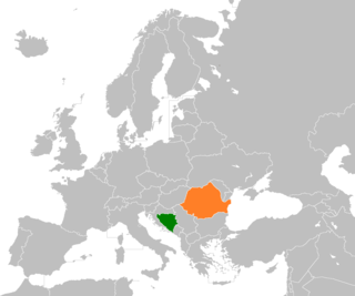 Diplomatic relations between Bosnia and Herzegovina and Romania