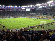 Bosnia players at Maracanã 15 June 2014