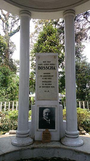 Karel Albert Rudolf Bosscha - the tomb of K.A.R. Bosscha