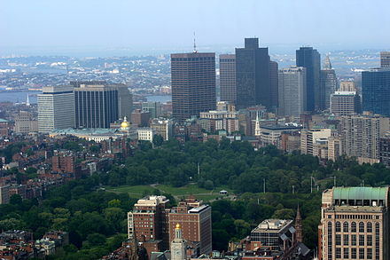 Boston Common seen from the Prudential Tower Boston common 20060619.jpg