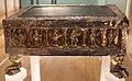 Bottega forse emiliana, altarolo di san geminiano, 1106 ca, granito ofitico verde, legno e lamina d'argento dorato 01.JPG