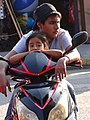Boy and Girl on Motorbike - Tecolutla - Veracruz - Mexico (15844299018).jpg