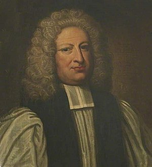 William Nicolson - Bishop Nicolson, portrait attributed to Michael Dahl.