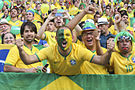 Brazil and Colombia match at the FIFA World Cup 2014-07-04 (29).jpg
