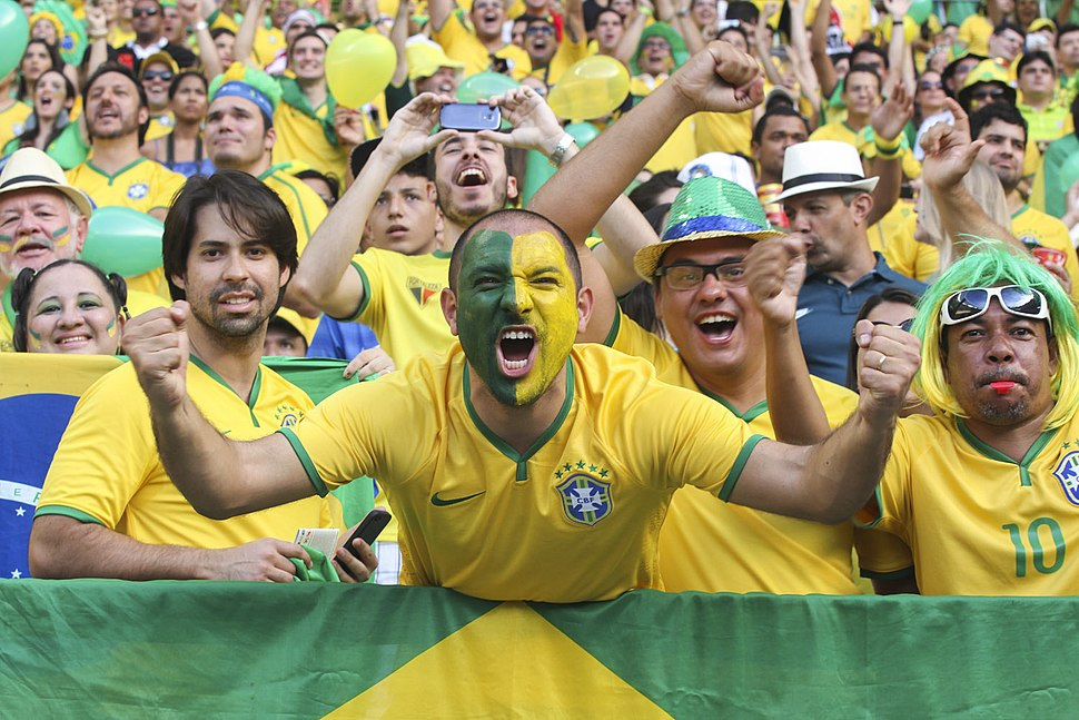 Brazil and Colombia match at the FIFA World Cup 2014-07-04 (29)