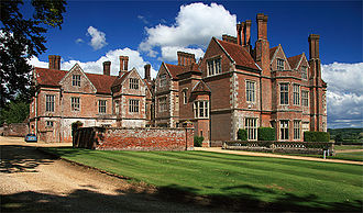 Breamore House - Breamore House, Hampshire, view from the south