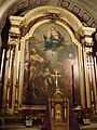 Brescia San Faustino in riposo pala altare by Stefano Bolognini.JPG