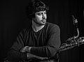 Brian landrus 2012 Baritone Saxophone.jpg
