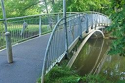 Bridge over Pitville Lake (4737)