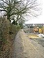 Bridleway - Hardaker Lane - geograph.org.uk - 1179664.jpg