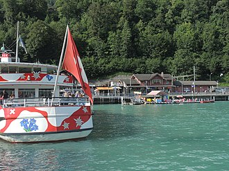 BLS AG - MS Jungfrau on Brienzersee at Brienz