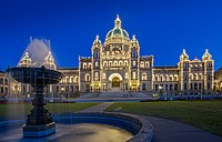 British Columbia Parliament Buildings in Victoria, British Columbia, Canada 14.jpg
