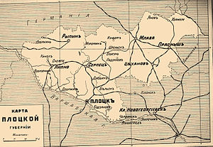 Płock Governorate - Плоцкая губерния