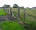 Broken gate - geograph.org.uk - 485319.jpg