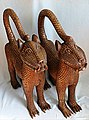 Bronze Leopards from Benin (26475275146).jpg