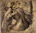 Brooklyn Museum - Seated Nude Woman Drying Her Hair (Femme nue assise s'essuyant les cheveux) - Edgar Degas.jpg