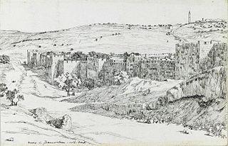 Walls of Jerusalem, North Side