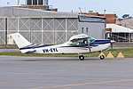Brownlee & Verdich Pty Ltd (VH-EYL) Cessna R182 Turbo Skylane RG taxiing at Wagga Wagga Airport.jpg