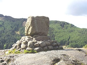 Battle of Glen Trool - Bruce's Stone, Loch Trool