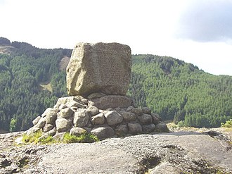 Battle of Glen Trool - Bruce's Stone, Loch Trool