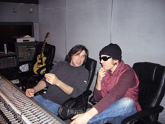 Bruce Robb - Robb with Evan Dando Cherokee 2006