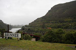 Brunner, New Zealand - Brunner in 2012
