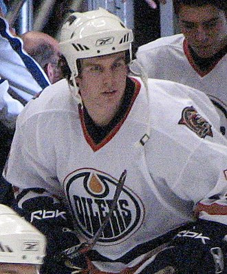 Bryan Young (ice hockey) - Young with the Edmonton Oilers in 2007