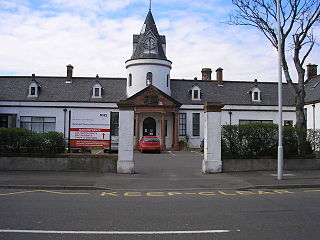 Buckhaven town on the Firth of Forth in Fife, Scotland